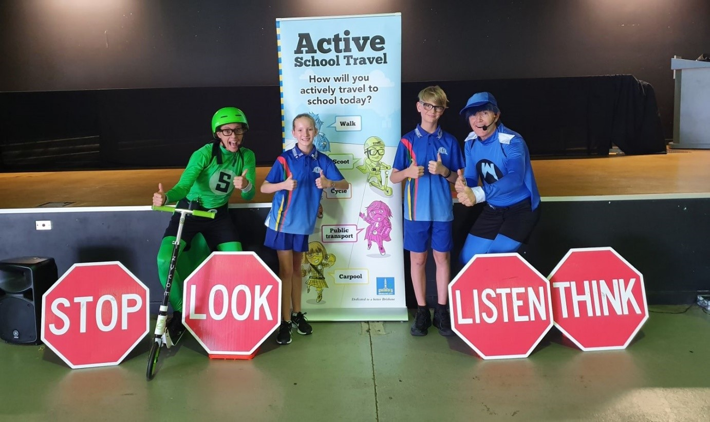 Active School Travel - Wednesday 9 August. Win a Prize!